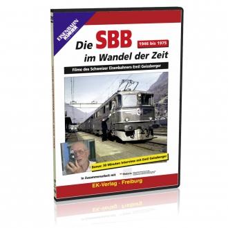 DVD - Die SBB im Wandel der Zeit (1946 bis 1975)