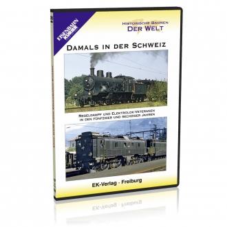 DVD - Damals in der Schweiz