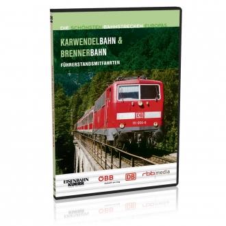 DVD - Karwendelbahn und Brennerbahn