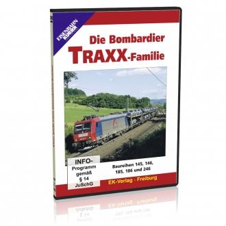 DVD - Die Bombardier TRAXX-Familie
