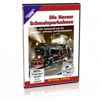 DVD - Die Harzer Schmalspurbahnen