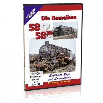 DVD - Die Baureihen 58 und 58.30