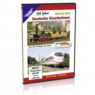 DVD - 175 Jahre Deutsche Eisenbahnen