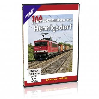 DVD - 100 Jahre Lokomotiven aus Hennigsdorf