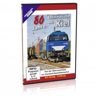 DVD - 80 Jahre Lokomotiven aus Kiel