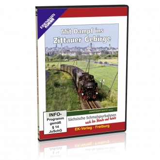 DVD - Mit Dampf ins Zittauer Gebirge