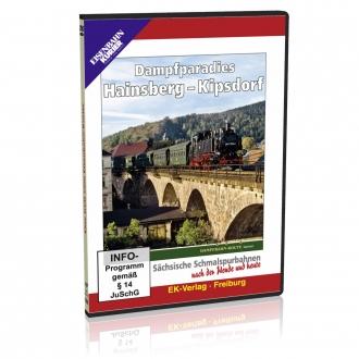 DVD - Dampfparadies Hainsberg - Kipsdorf
