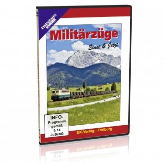 DVD - Militärzüge