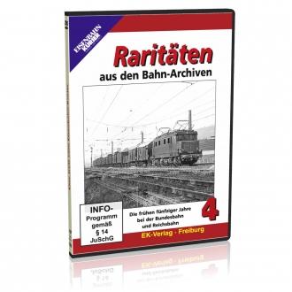DVD - Raritäten aus den Bahn-Archiven - 4