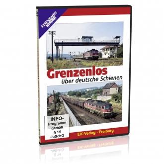 DVD - Grenzenlos über deutsche Schienen