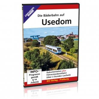 DVD - Die Bäderbahn auf Usedom