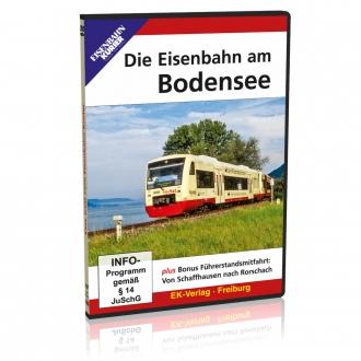 DVD - Die Eisenbahn am Bodensee