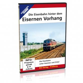 DVD - Die Eisenbahn hinter dem Eisernen Vorhang