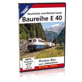 DVD - Baureihe E 40