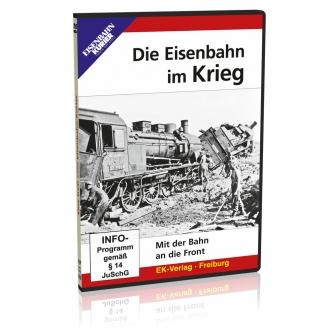 DVD - Die Eisenbahn im Krieg