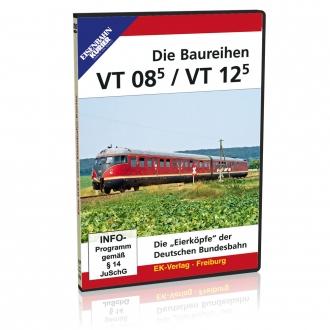 DVD - Baureihen VT 08.5 / VT 12.5