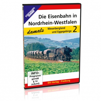 DVD - Die Eisenbahn in Nordrhein-Westfalen - damals, Teil 2