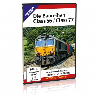 DVD - Die Baureihen Class 66 / Class 77