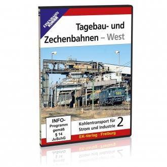 DVD - Tagebau-und Zechenbahnen - West