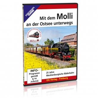 DVD - Mit dem Molli an der Ostsee unterwegs