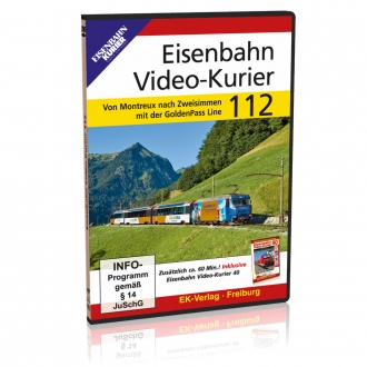 DVD - Eisenbahn Video-Kurier 112