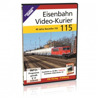 DVD - Eisenbahn Video-Kurier 115