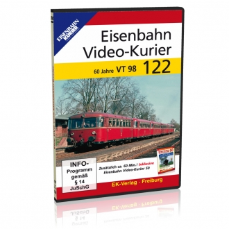 DVD - Eisenbahn Video - Kurier 122