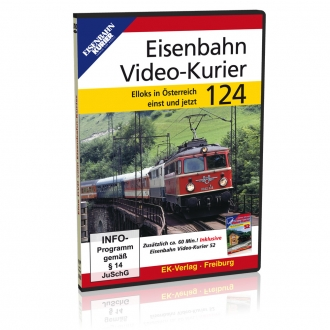 DVD - Eisenbahn Video - Kurier 124
