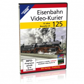 DVD - Eisenbahn Video - Kurier 125