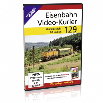 DVD - Eisenbahn Video - Kurier 129
