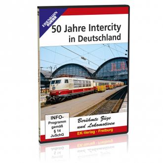 DVD - 50 Jahre Intercity in Deutschland