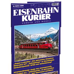 Eisenbahn-Kurier 6/2013