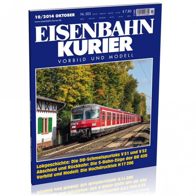 Eisenbahn-Kurier 10/2014