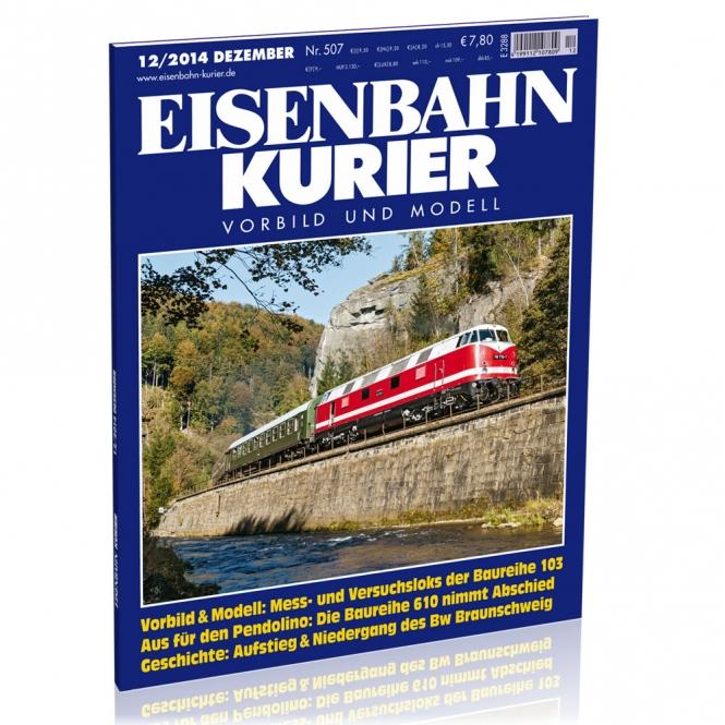 Eisenbahn-Kurier 12/2014