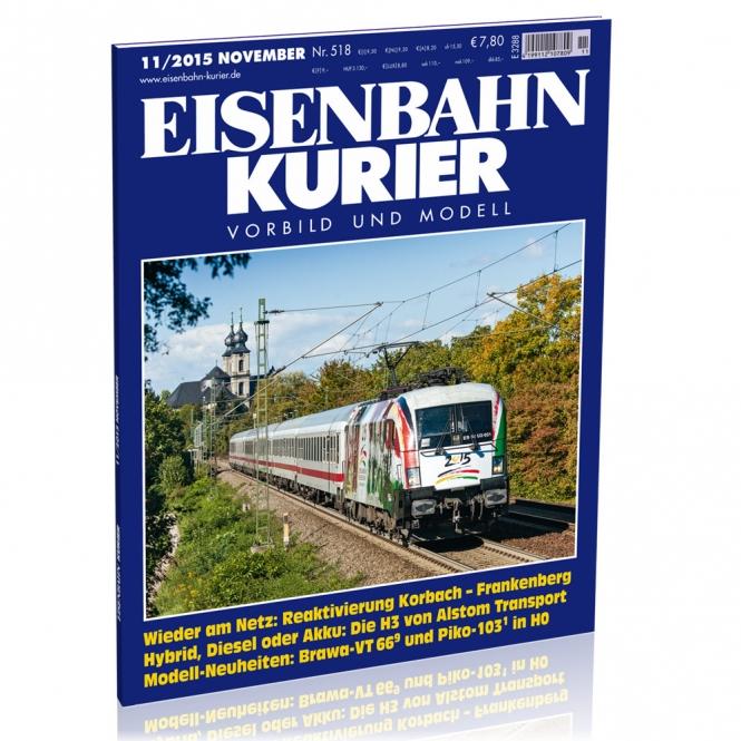Eisenbahn-Kurier 11/2015