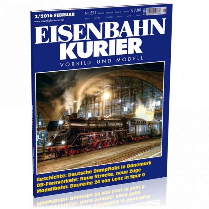 Eisenbahn-Kurier 2/2016