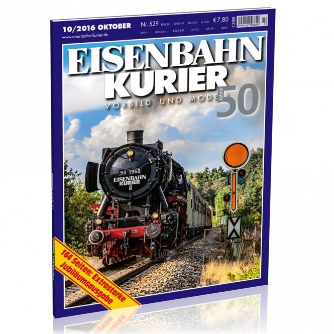 Jubiläumsaussgabe Eisenbahn-Kurier 10/2016