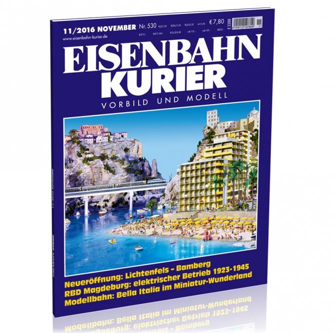 Eisenbahn-Kurier 11/2016