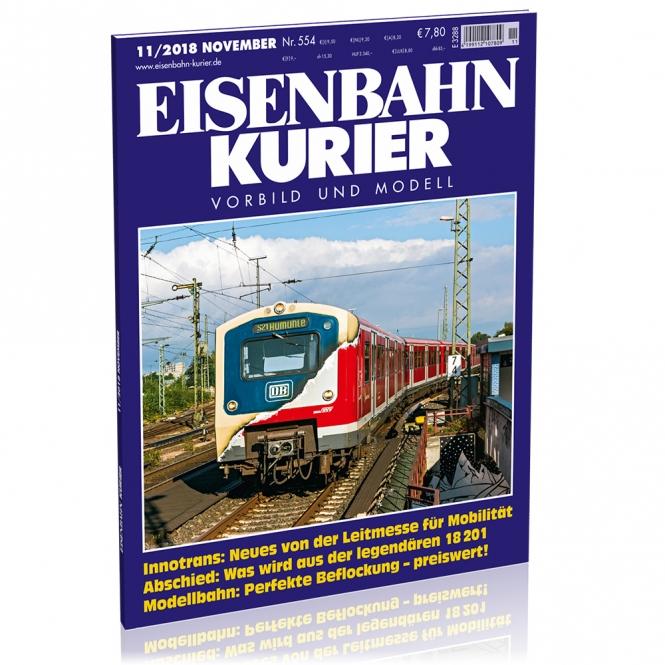 Eisenbahn-Kurier 11/2018