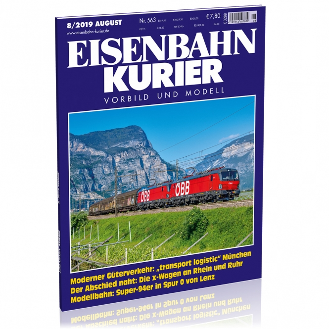 Eisenbahn-Kurier 8/2019