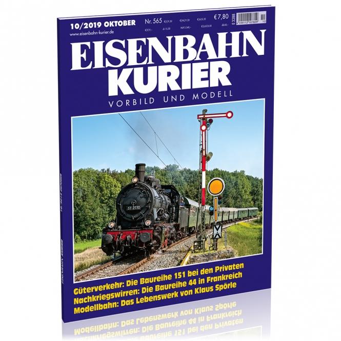 Eisenbahn-Kurier 10/2019