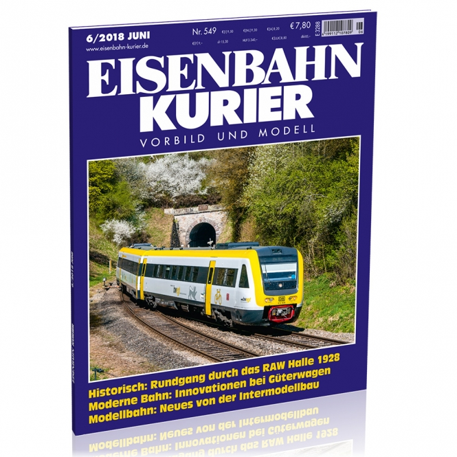Eisenbahn-Kurier 6/2018