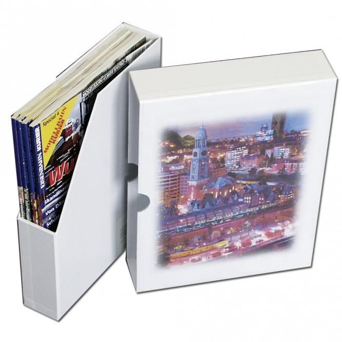 Zeitschriftenbox  Miniatur Wunderland