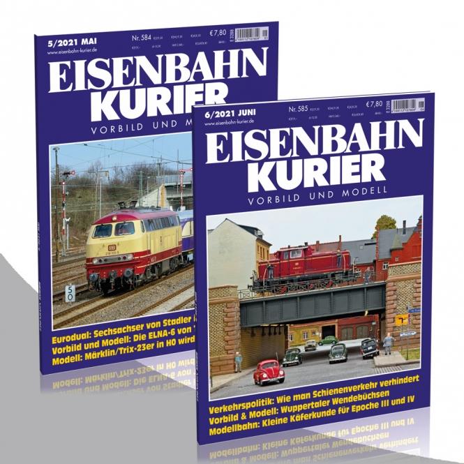 Eisenbahn-Kurier Jahresabonnement