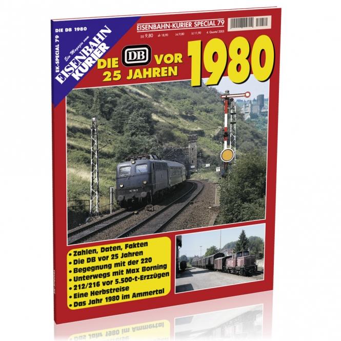 Die DB vor 25 Jahren - 1980