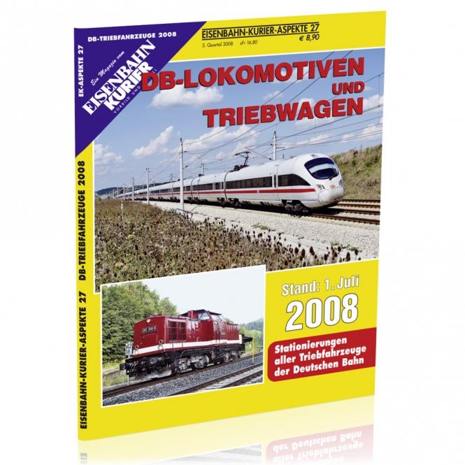 DB-Lokomotiven und Triebwagen 2008