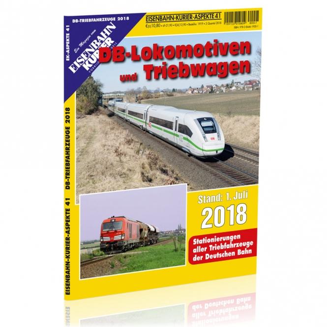DB-Lokomotiven und Triebwagen 2018