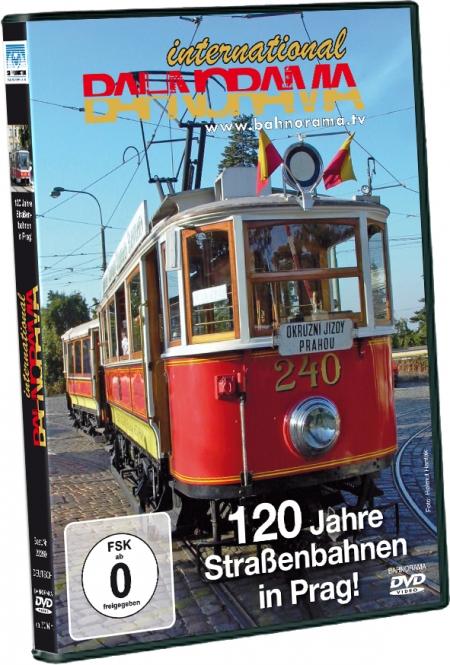 DVD - 120 Jahre Straßenbahnen in Prag