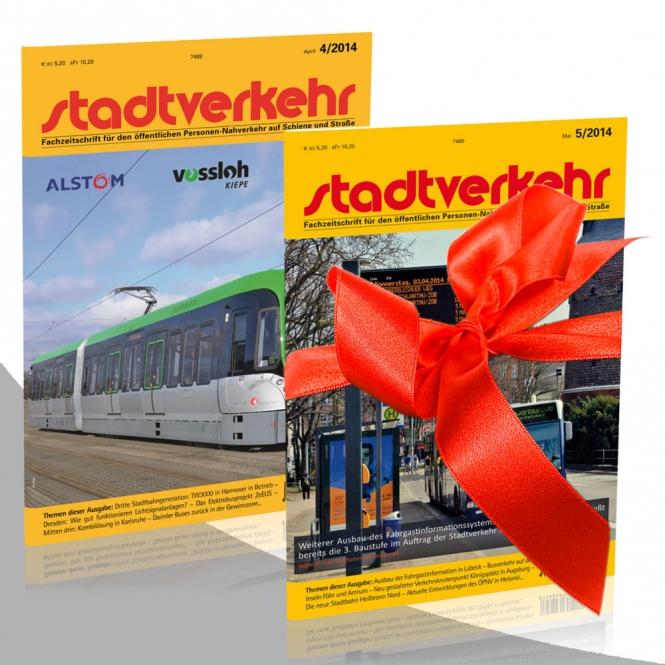 Geschenk-Abo + Bus Doppeldeckerbus MAN