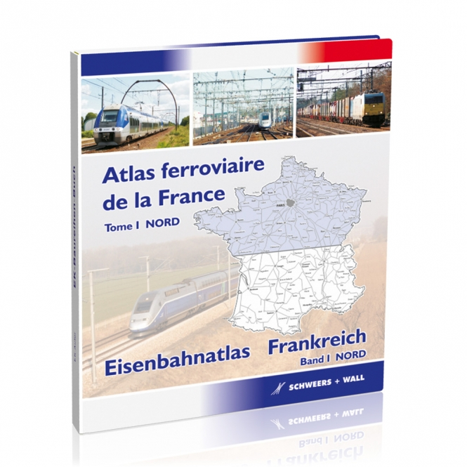 Eisenbahnatlas Frankreich